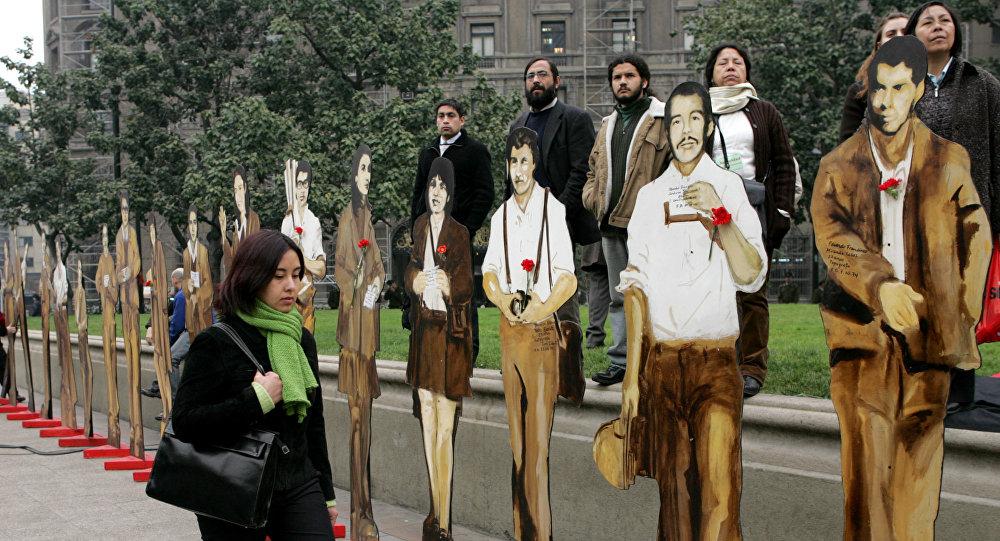 Figuras de los aparecidos en la Operación Colombo durante la dictadura de Pinochet en Chile, 2005