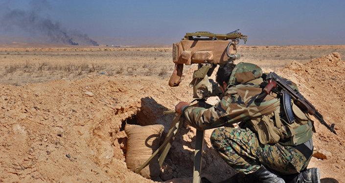 Soldado del Ejército sirio (archivo)