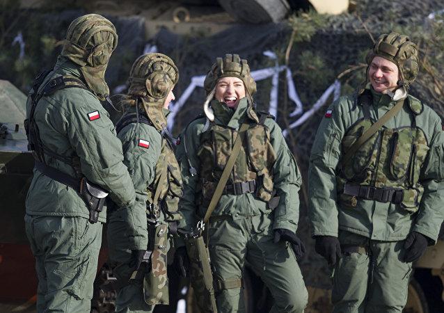 Militares polacos
