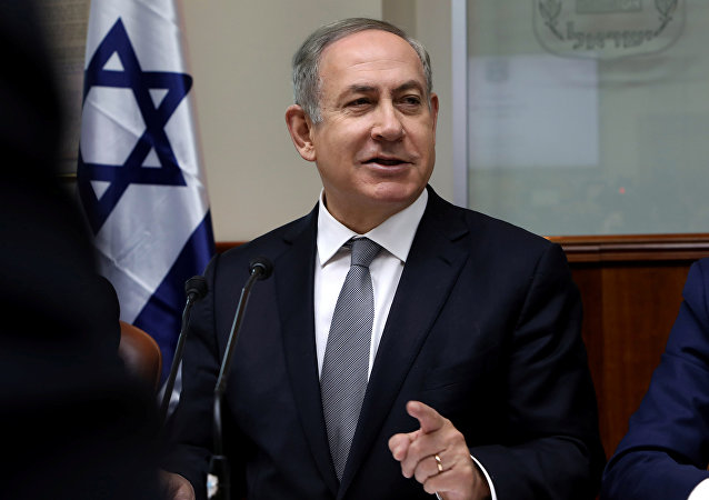 Benjamín Netanyahu, primer ministro israelí