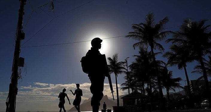 La policía brasileña
