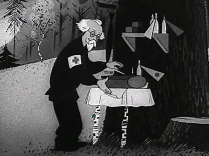 Resulta que Aibolit es en realidad un personaje ficticio de una serie de dibujos animados soviéticos, doctor y veterinario, que, según la trama de uno de los episodios de 1939, viajó a la cuenca del río Limpopo en África para curar a los niños locales.
