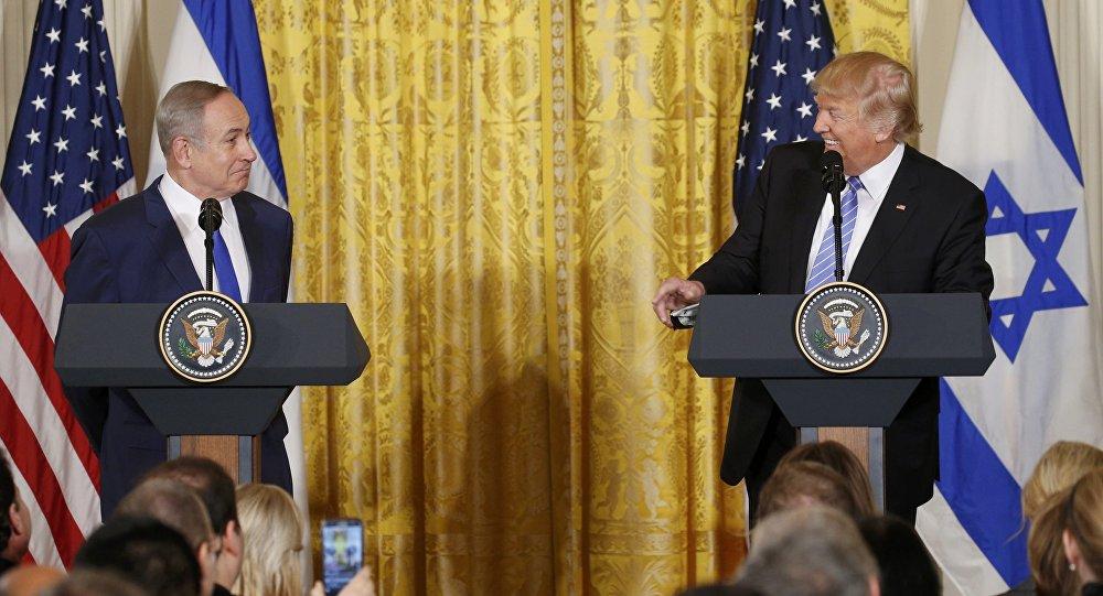 Primer ministro de Israel, Benjamin Netanyahu y presidente de EEUU, Donald Trump (archivo)