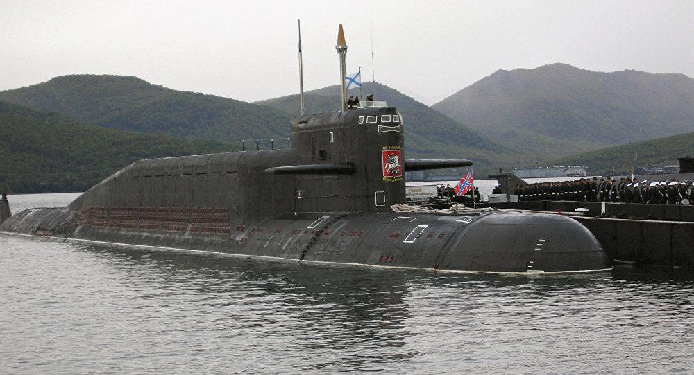 Submarino nuclear estratégico (archivo)