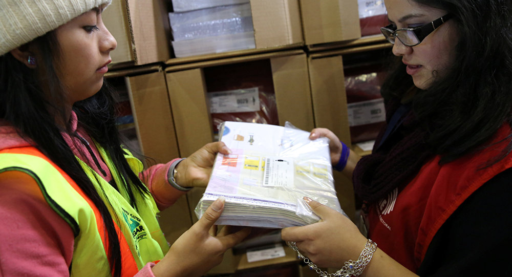 Preparación para las elecciones en Ecuador