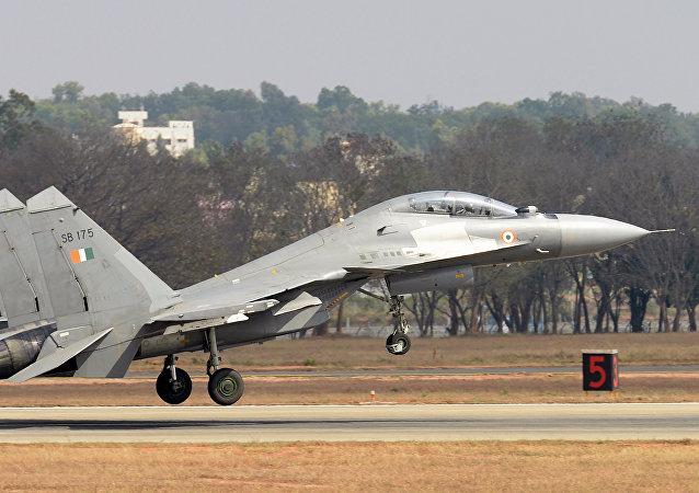 Un Su-30MKI indio, el futuro portador de los misiles de crucero BrahMos-NG