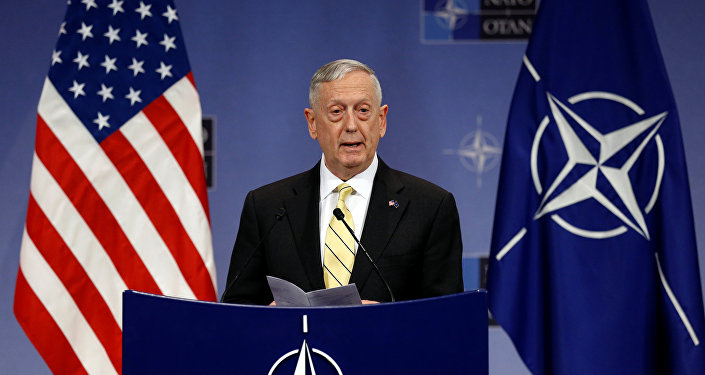 James Mattis, secretario de Defensa de los Estados Unidos