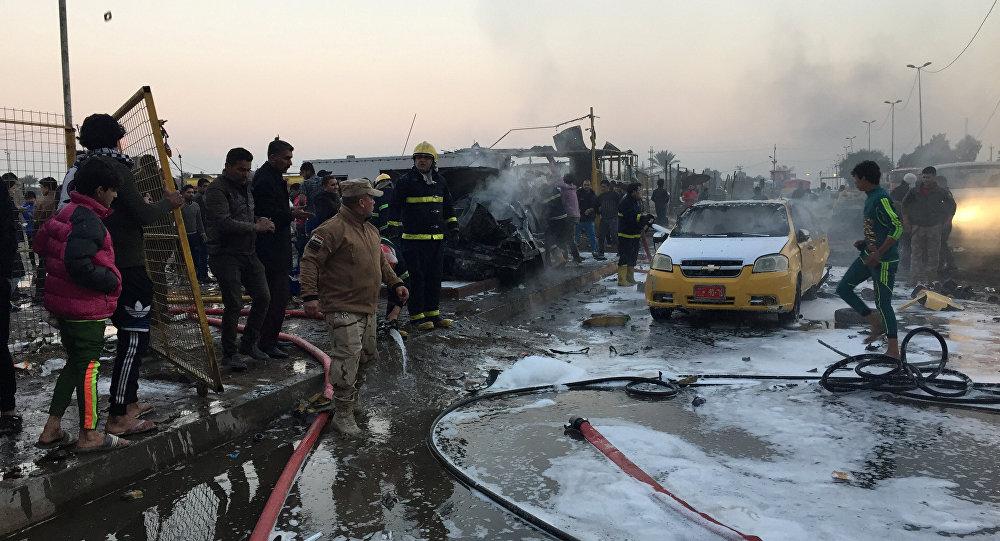 48 muertos por explosión de coche bomba en Bagdad