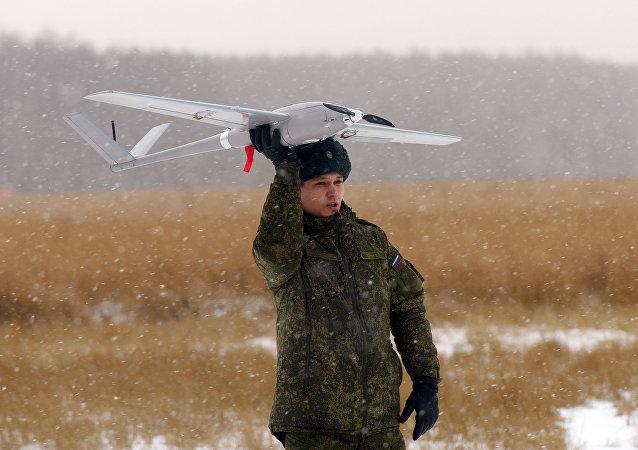 Dron ruso Orlán-10