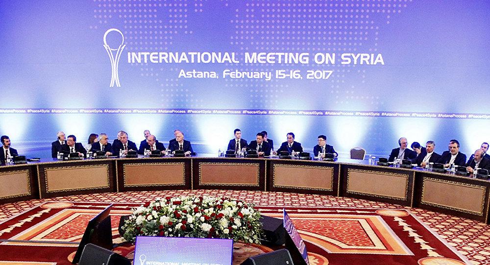 Consultas siria en Astaná (archio)