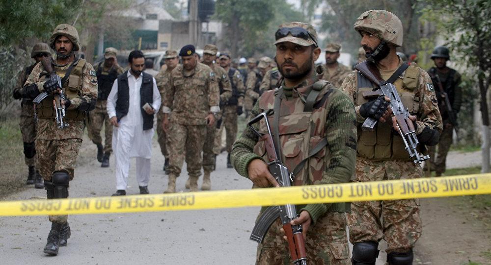 Soldados del Ejército de Pakistán