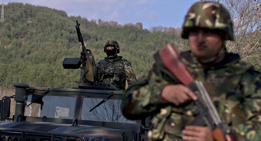 Soldados búlgaros
