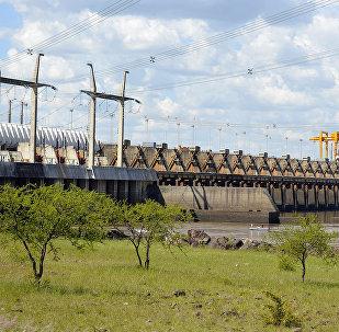 Central hidroeléctrica binacional de Salto Grande