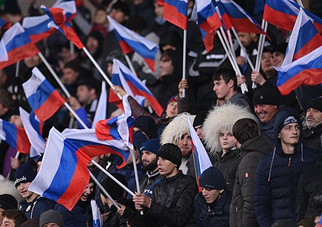 Hinchas rusos (archivo)