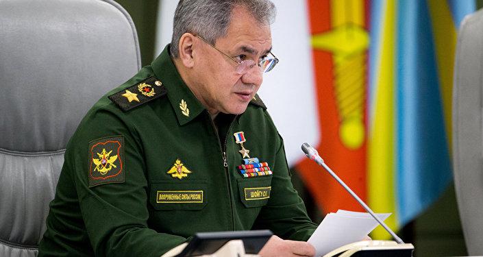 Ministro de Defensa ruso, Serguéi Shoigú