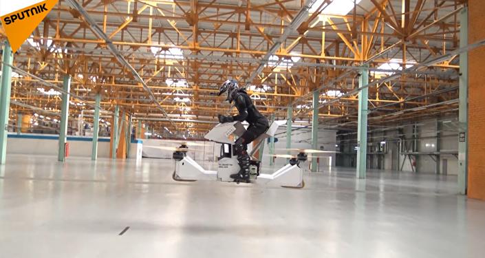 La 'aeromoto' rusa 'Scorpion 3'