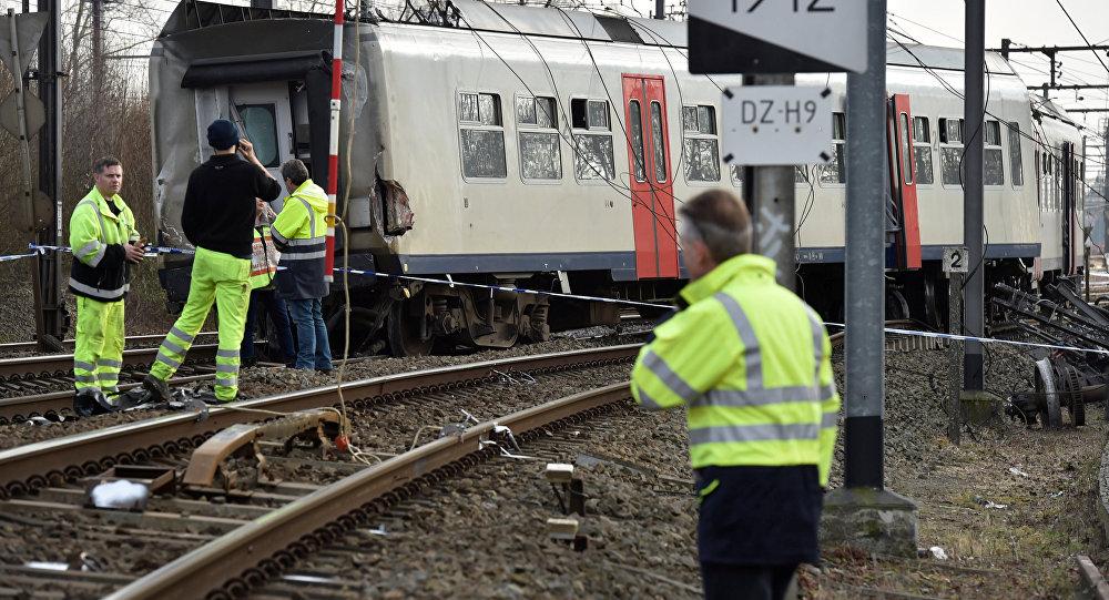 Un tren de pasajeros se ha descarrilado en el camino de Leuven a Bruselas en Bélgica