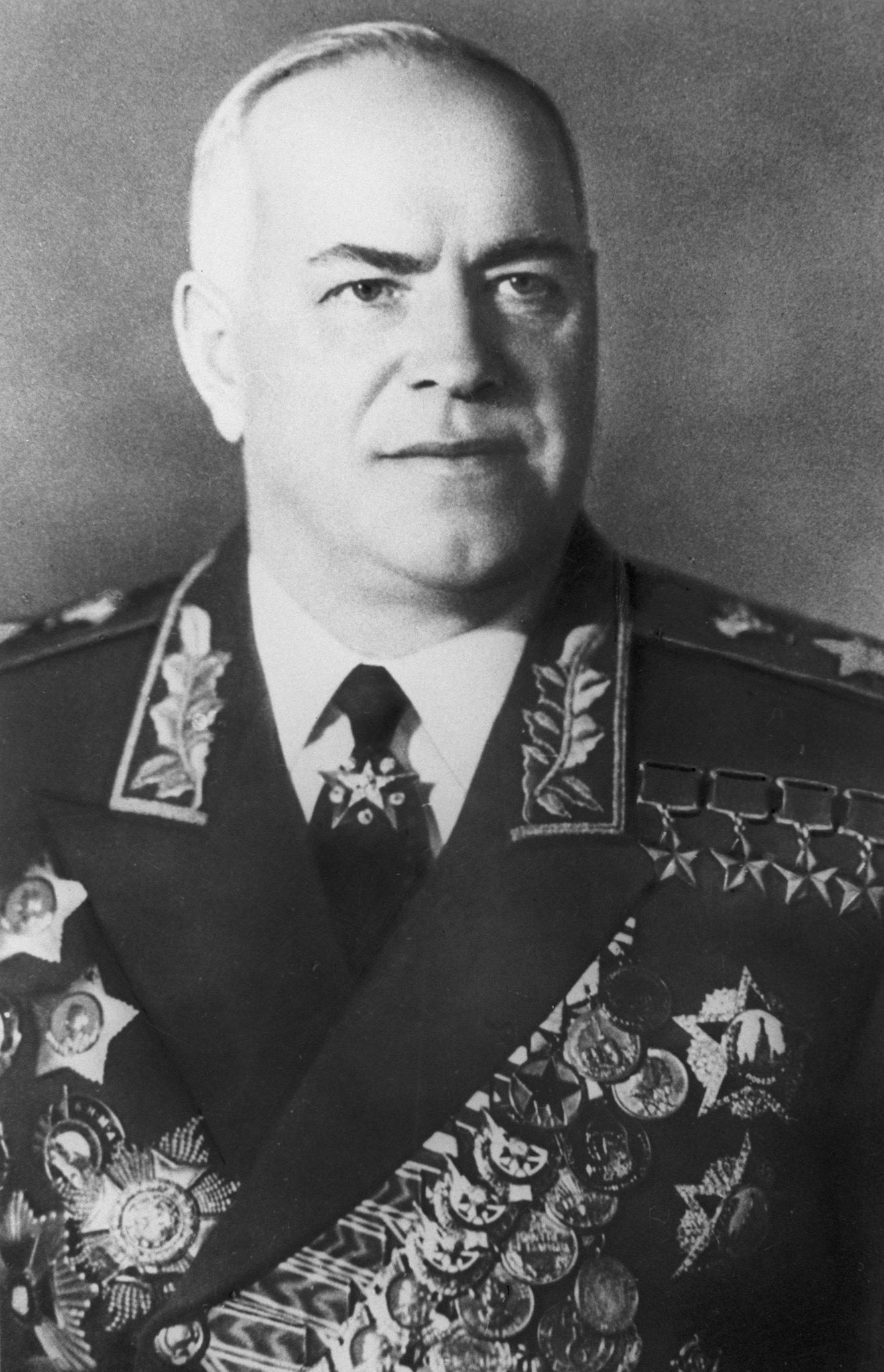 Mariscal Gueorgui Konstantínovich Zhúkov