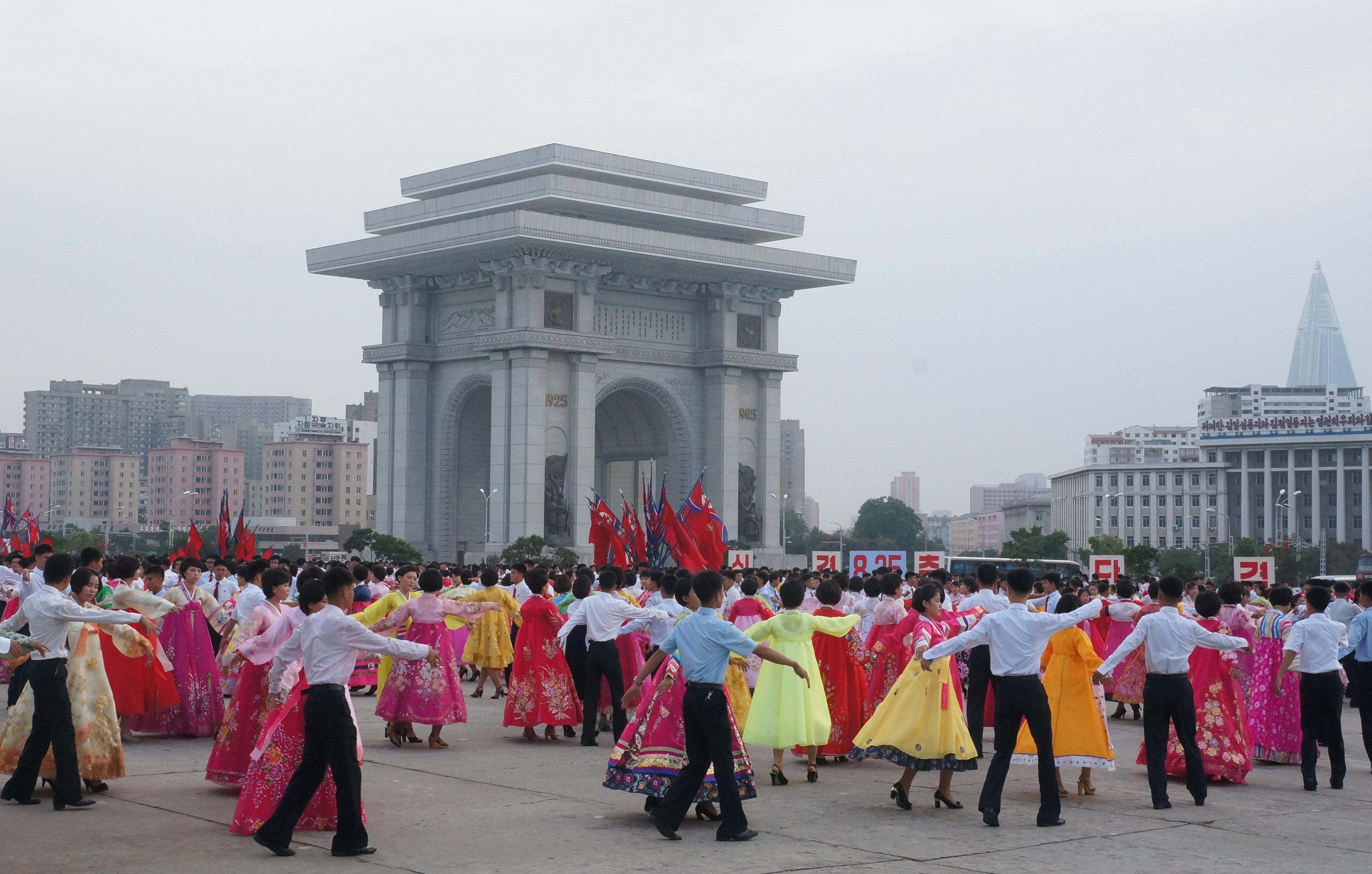 Arco del Triunfo de Pyonyang (el más alto del mundo) fue construido para conmemorar la resistencia del pueblo coreano frente al Imperio del Japón