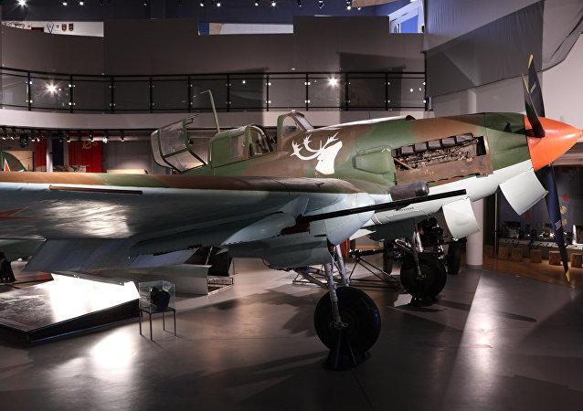 IL-2 'Shturmovik' restaurado en un museo de Kirkenes, Noruega