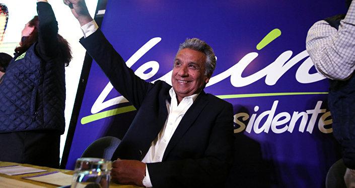 Lenín Moreno, candidato oficialista a la presidencia de Ecuador