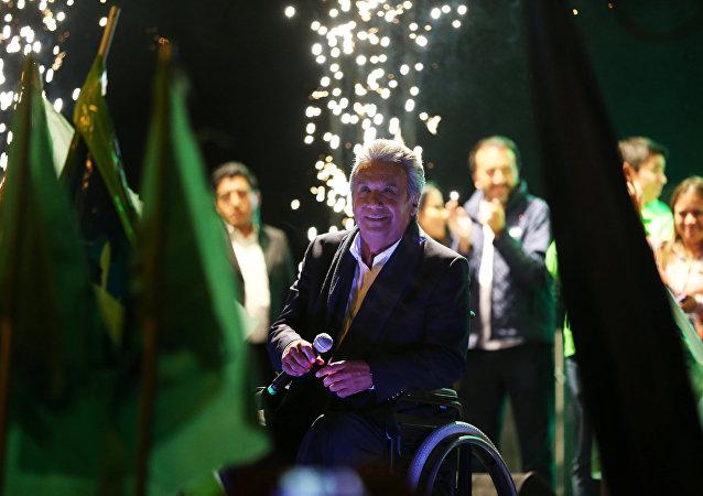 Lenín Moreno, candidato de Alianza País