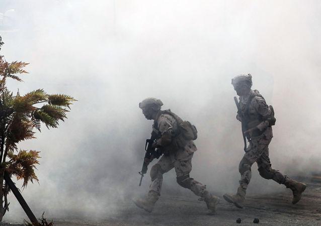 Militares emiratíes (archivo)