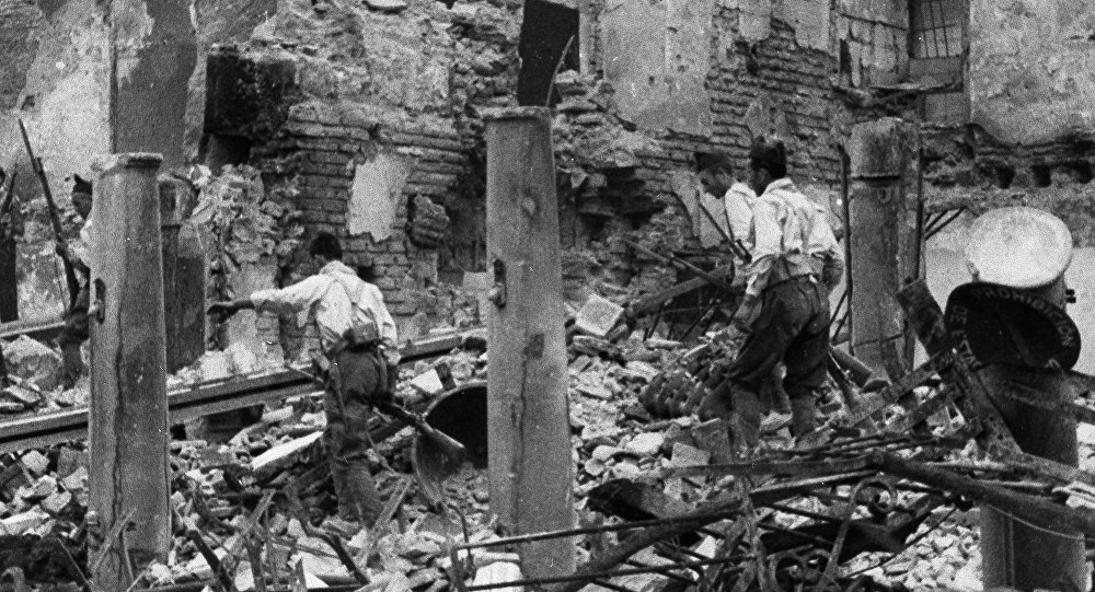 España durante la Guerra Civil