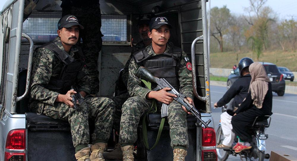 La policía de Pakistán