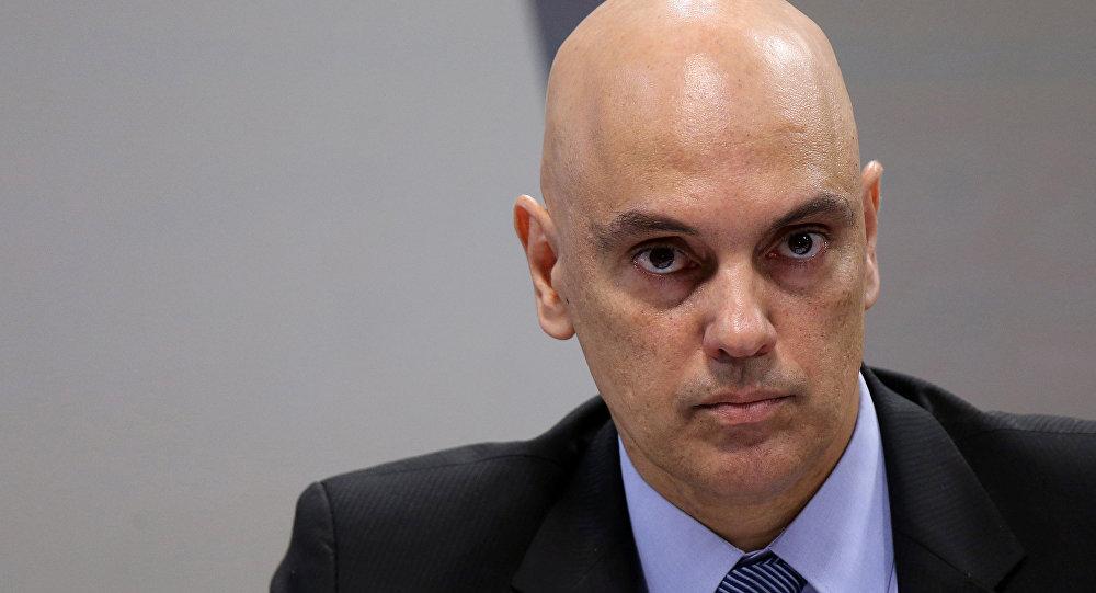 Alexandre de Moraes, exministro de Justicia y Ciudadanía