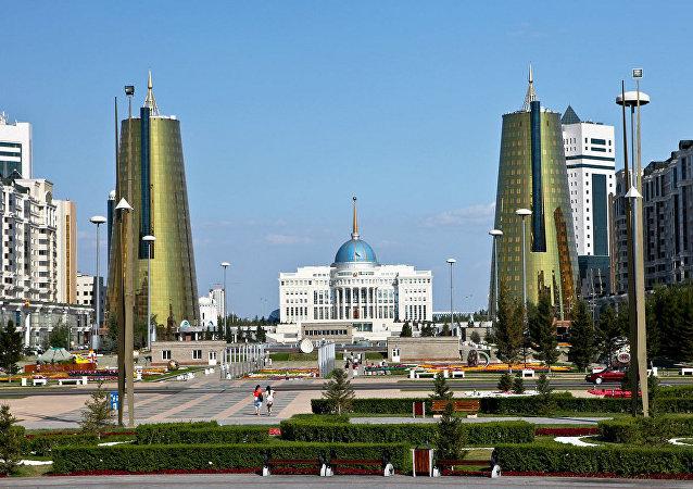 Nur-Sultán, capital de Kazajistán