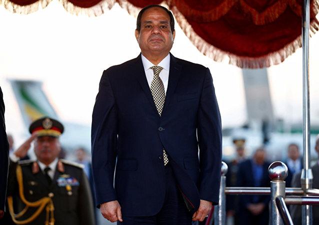 Abdelfatah Sisi, presidente de Egipto
