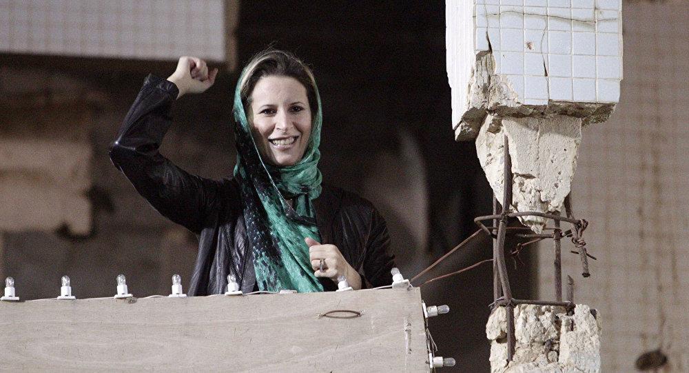 Aisha, la hija de Muamar Gadafi