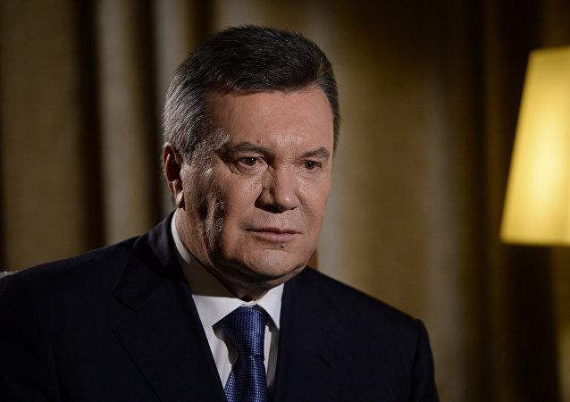 Víctor Yanukóvich, expresidente ucraniano (archivo)