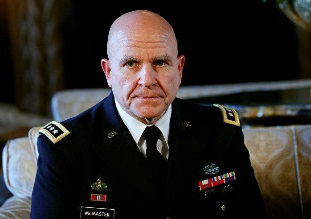 H.R. McMaster, el consejero de Seguridad Nacional