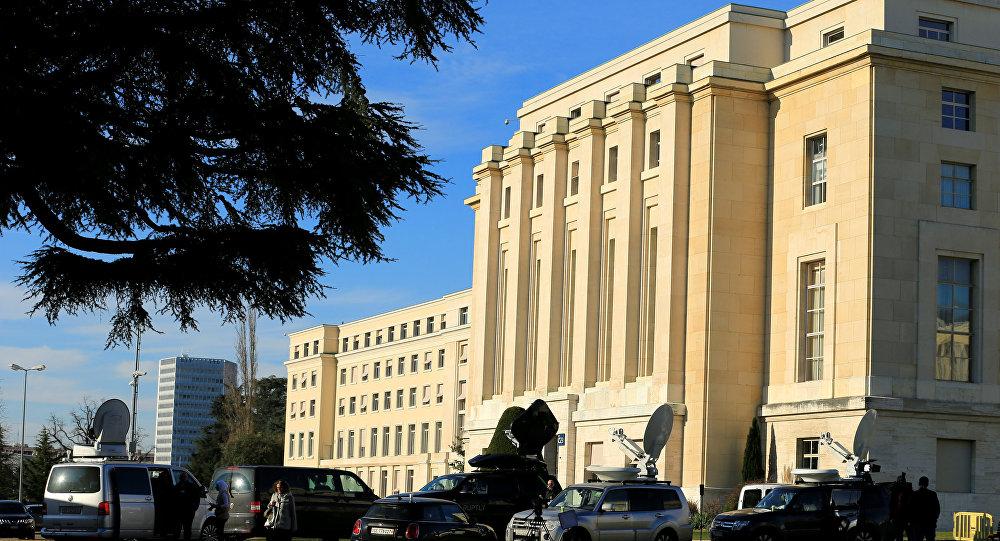 La oficina de la ONU en Ginebra (imagen referencial)