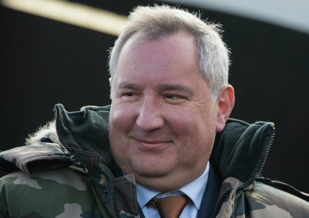 Dmitri Rogozin, vice primer ministro de Rusia (archivo)