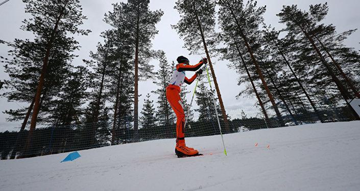 Adrian Solano participa en el Campeonato Mundial de Esquí Lahti 2017, en Suecia