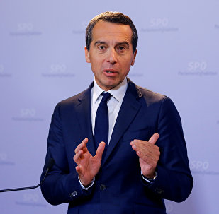 Christian Kern, canciller federal de Austria