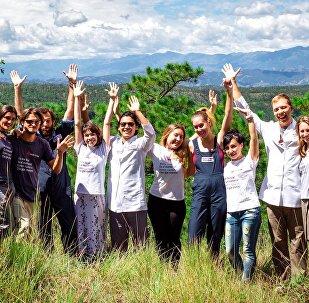 Clínica construida por voluntarios rusos abre sus puertas en Guatemala