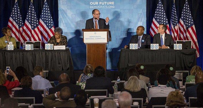 Demócratas eligen a latino cercano a Obama como su presidente