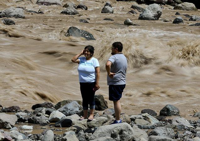 Aluviones en Chile