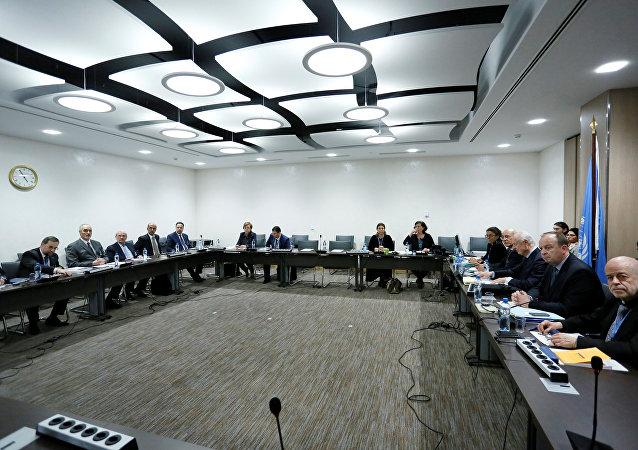 Consultas sirias en Ginebra