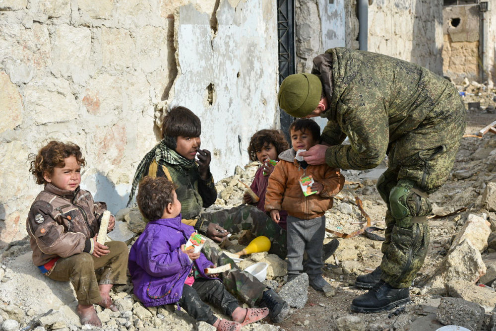 La lucha de las tropas rusas contra los terroristas en Siria, en imágenes