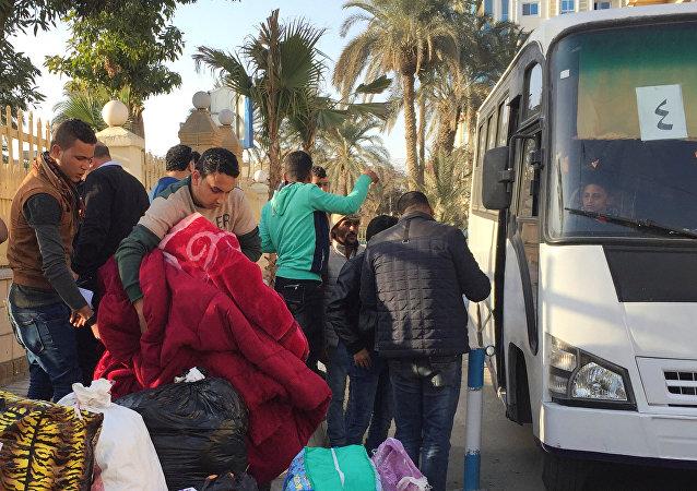 Familias cristianas del Sinaí del Norte huyen de los terroristas