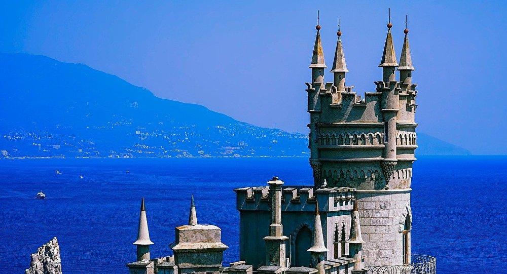 Castillo Nido de Golondrina en Yalta, Crimea