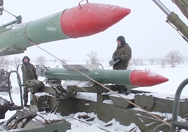 A la defensa de los cielos: las tropas antiaéreas rusas, en acción