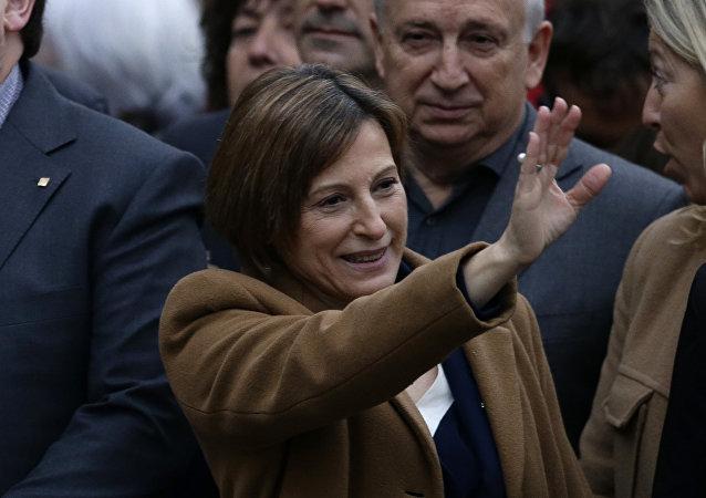 Carme Forcadell, expresidenta del Parlamento de Cataluña (archivo)
