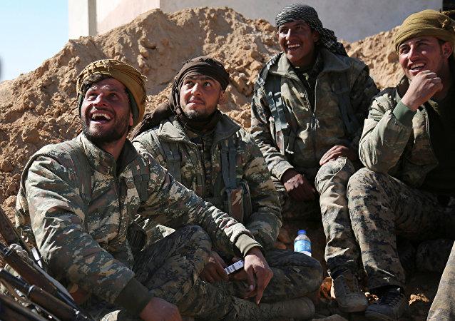 Las Fuerzas Democráticas Sirias (FDS), foto de archivo