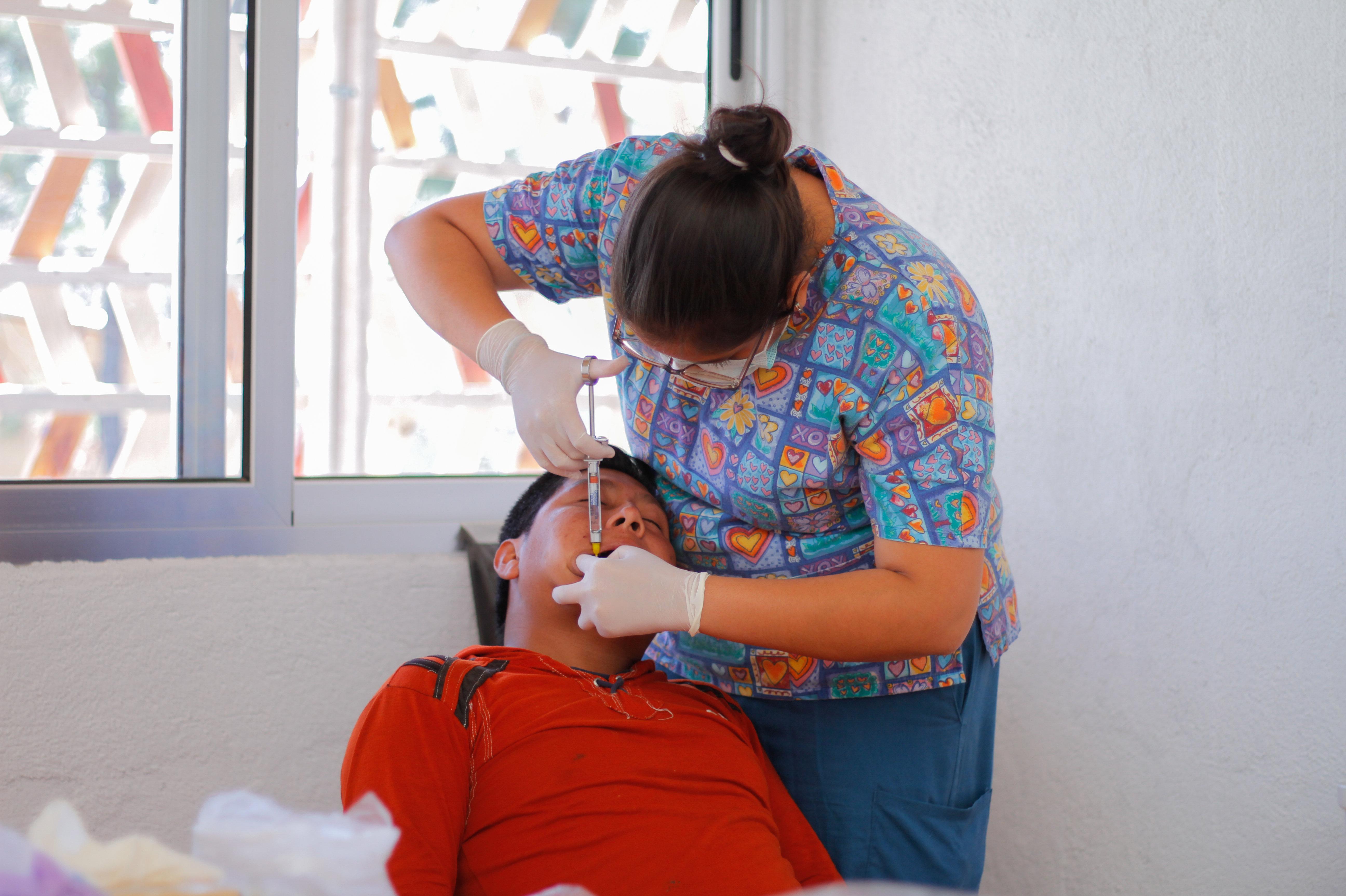 Los primeros pacientes de la clínica